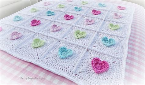 heart pattern baby blanket free crochet baby blanket patterns pinterest my crochet