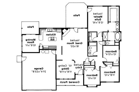 traditional floor plans traditional house plans midland 30 052 associated designs