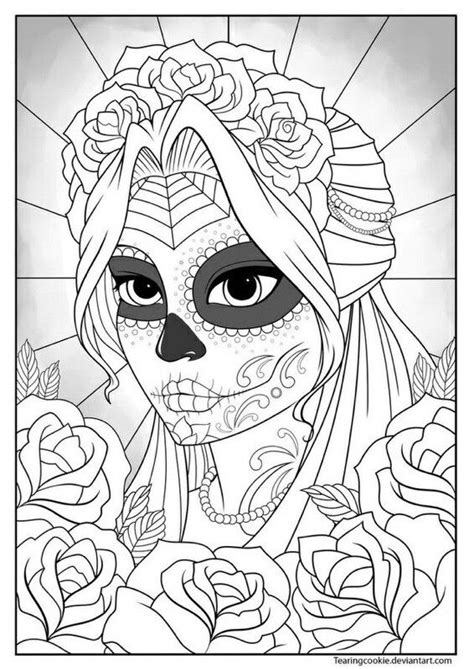 pin  daisy hall  daisys skull coloring pages