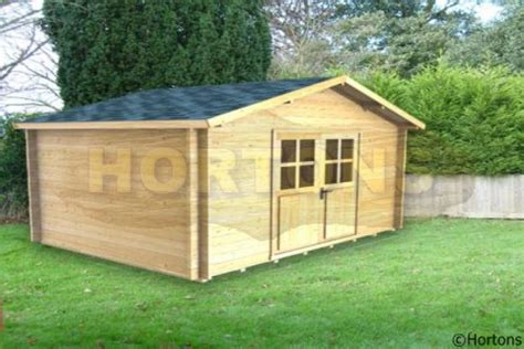 Portable Log Cabins by Leeds 3 5x2 5 Log Cabin Hortons Portable Buildings