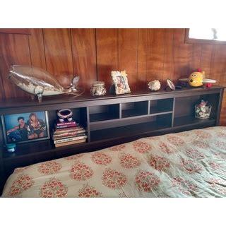 everett espresso king bookcase headboard everett espresso king bookcase headboard 11127144