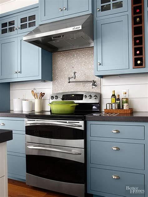 color for kitchen cabinets kitchen cabinet paint color with gorgeous blue for