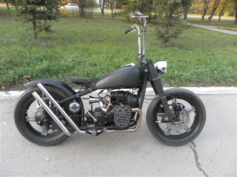 Custom Custom dusty a custom bobber m72 by hammerbike customs