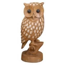 Vintage Ceramic Vases Large Carved Wood Owl At 1stdibs