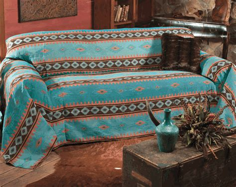 turquoise couch cover skystone turquoise sofa cover