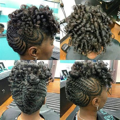 Mohawk Hairstyles With Curls by Mohawk Braid Hairstyles Black Braided Mohawk Hairstyles