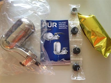 Pur Faucet Filter Review by Pur Faucet Mount Water Filter Review Fruition Fitness