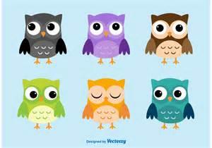 owl cartoon vector characters download free vector art