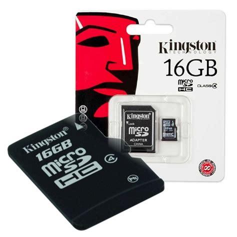 Microsd 16gb 161 16gb memoria microsd kingston micro sd y adapt sd 16gb 29 990 en mercado libre