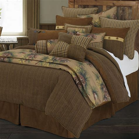 rustic bed sets crestwood 4 5 pc rustic comforter bed set