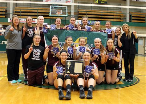 section 6 volleyball portville shakes off slow start tops randolph for section