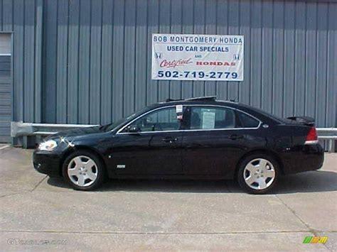 2008 impala black 2008 black chevrolet impala ss 15067989 gtcarlot