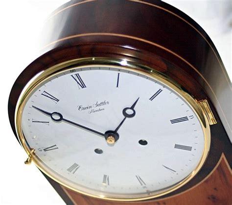 ebay auction german erwin sattler 1119 walnut table clock