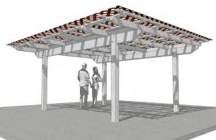 Detached Patio Cover Plans by How To Build Patio Cover Plans Free Pdf