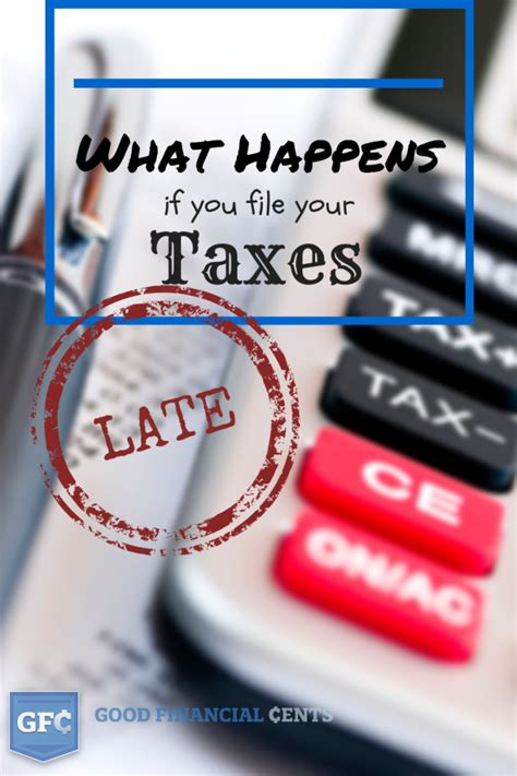 what happens when you make a late credit card payment what happens if you don t file your tax return