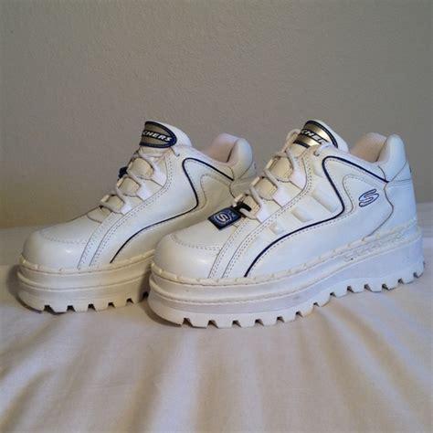 skechers platform sneakers skechers vintage 90 s platform sneakers by skechers from