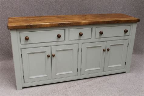 Country Cottage Armchairs Reclaimed Pine Sideboard Kitchen Unit