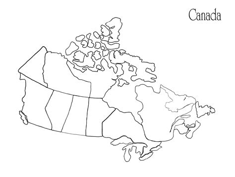 bc map coloring page blank canada map with provinces search results