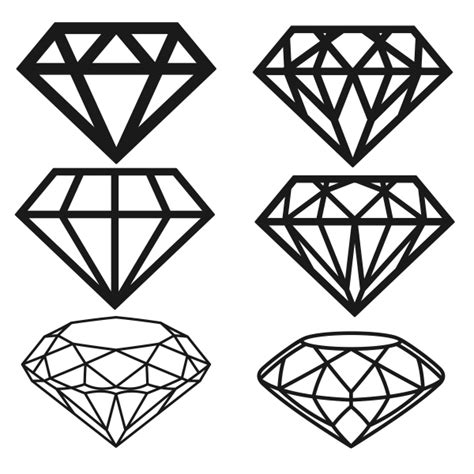diamond svg cuttable designs