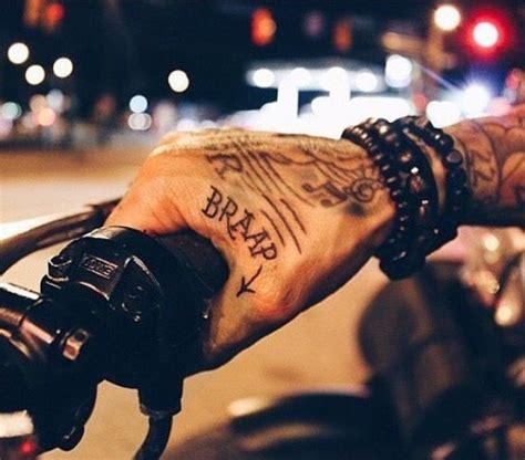 full throttle tattoo bikes throttle cafe racer chopper bobber brat