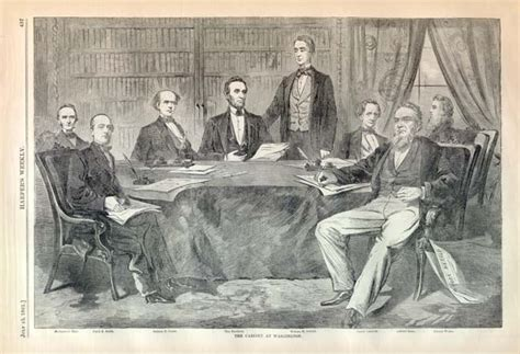 abraham lincoln cabinet one hundred fifty years ago today march 2011