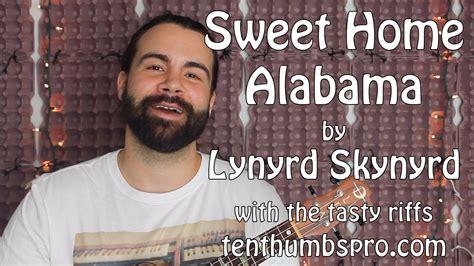 lynyrd skynyrd ukulele sweet home alabama lynyrd skynyrd ukulele tutorial with