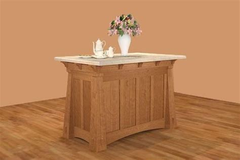 mission kitchen island handmade mission style island by new mission workshop custommade