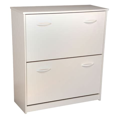 white shoe cabinet venture horizon double shoe cabinet white 4230 11wh