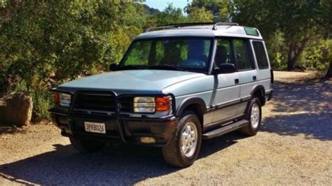 electronic toll collection 1996 land rover discovery seat position control buy used 1996 land rover discovery se7 fully serviced low miles 7 seats no reserve in los