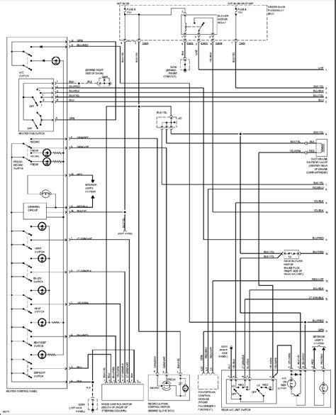 honda odyssey 1997 misc documents wiring diagrams pdf