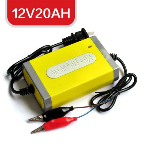 electric car charger 12v20ah yellow jakartanotebook
