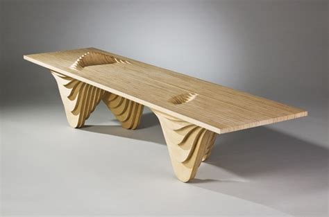 cnc bench stacked plywood table cnc furniture pinterest beautiful chairs and plywood chair