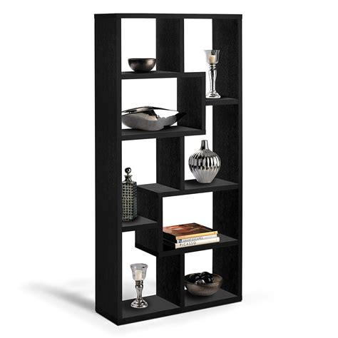 obsidian bookcase black american signature furniture