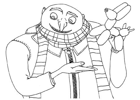 printable free despicable me coloring pages free