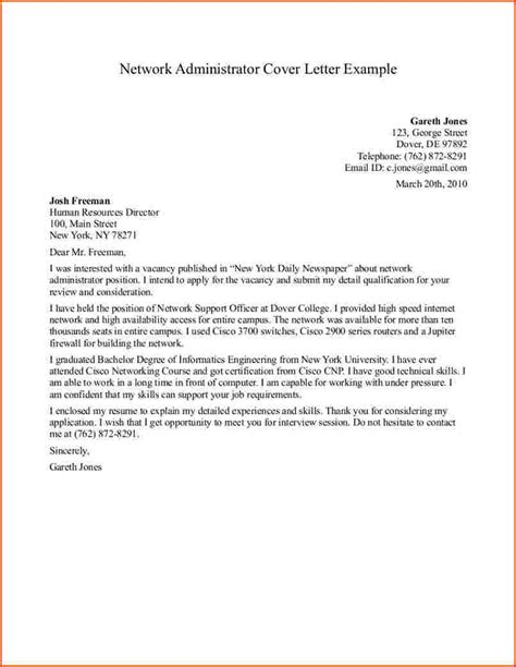 cover letter college administrator 28 images cover