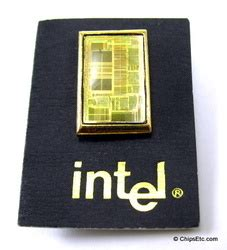 the integrated circuit the forerunner of the cpu was used in some computer memorabilia with integrated circuits