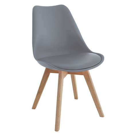jerry grey dining chair buy now at habitat uk