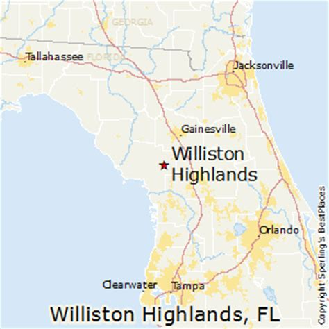 williston florida map best places to live in williston highlands florida