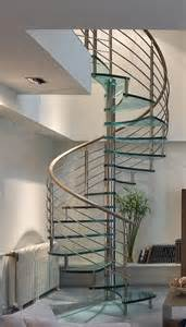 Stair Banister Rail Remarkable Glass Spiral Staircases Presenting Chrome