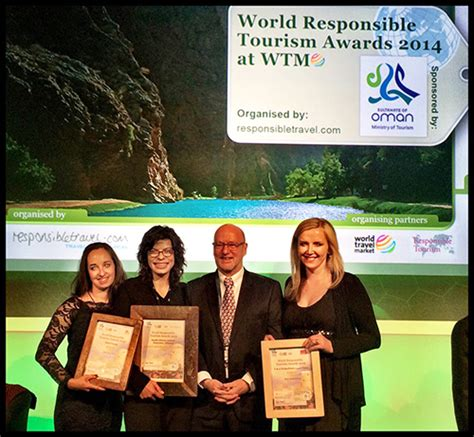 Win A With The Responsible Tourism Awards by World Responsible Tourism Awards 2014