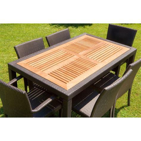 tavoli giardino tavoli da giardino allungabili in rattan mobilia la tua casa