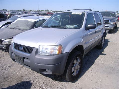 used parts 2004 ford escape xlt 3 0l v6 cd4e4 automatic