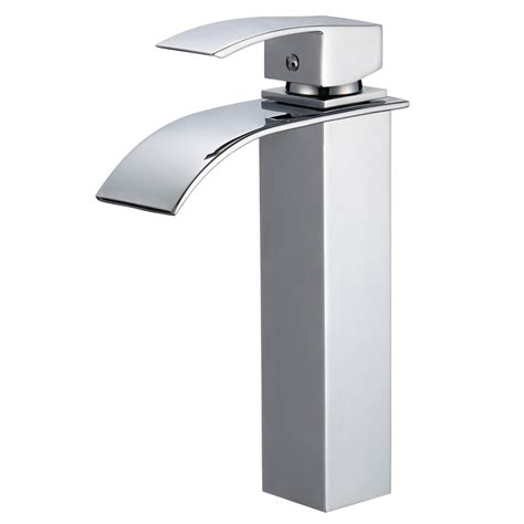 Piatti Tall Contemporary Single Hole Bathroom Faucet Modern Bathroom Faucet