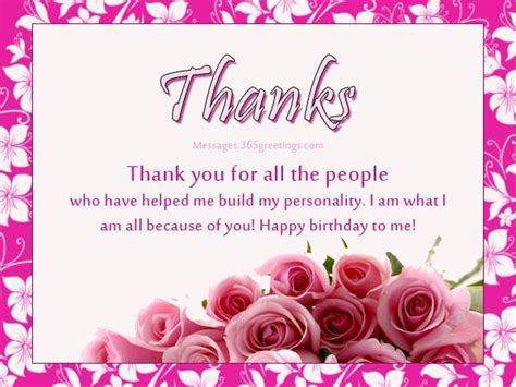 Thank You Greeting Card Messages