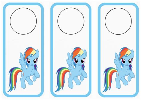 printable door tags my little pony printable name tags search results fun