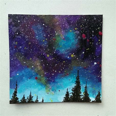 acrylic painting ideas on paper best 25 galaxy painting ideas on galaxy