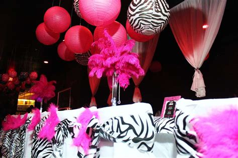 Pink Afrika 0055 zebra pink birthday ideas photo 1 of 24