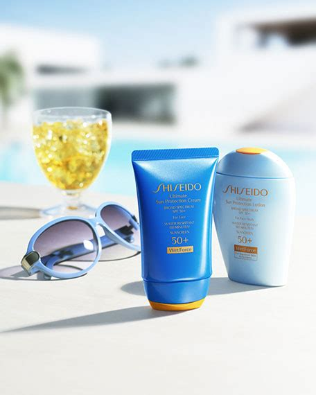Shiseido Ultimate Sun Protection Lotion shiseido ultimate sun protection lotion wetforce spf 50