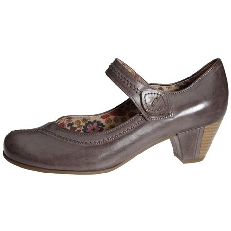 maryjane shoes gabor dolcie shoe in brown from mozimo