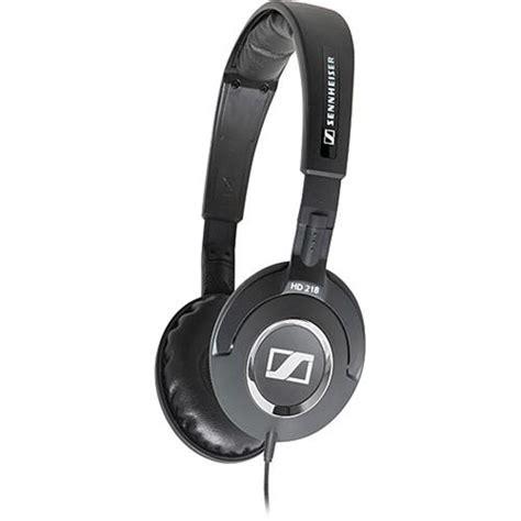 Headset Sennheiser Hd 218 sennheiser hd 218 on ear stereo headphones hd218 b h photo